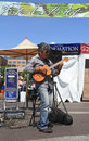Usa arizona musician patrick ki entertained at the festival of the arts in tempe march here he plays a bariton ukulele http www Royalty Free Stock Photos