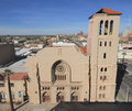 Usa arizona phoenix first baptist church the w monroe st of with its stunning stone columns italian gothic details and arched Stock Photos