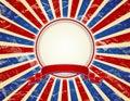 USA background, vector Royalty Free Stock Photos