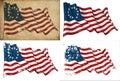 USA Betsy Ross Historic Flag Royalty Free Stock Photo