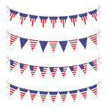 Usa bunting set Royalty Free Stock Photo