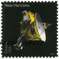 USA - CIRCA 2016: shows The New Horizons, series Pluto-Explored