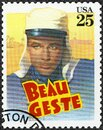 USA - 1990: shows Beau Geste, Classic Films Royalty Free Stock Photo