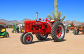 USA: Classic Tractor: 1952 McCormick Farmall H Royalty Free Stock Photo