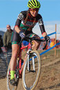 Usa cycling cyclo cross nationals the were held at valmont bike park in boulder colorado from january huge crowds were there to Royalty Free Stock Image
