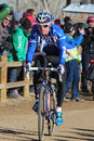 Usa cycling cyclo cross nationals the were held at valmont bike park in boulder colorado from january huge crowds were there to Stock Images