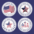 Usa design Royaltyfri Bild