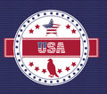 Usa design Lizenzfreies Stockbild