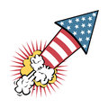 Usa design over white background vector illustration Royalty Free Stock Photography