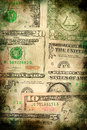 USA dollar money banknotes texture grunge background Royalty Free Stock Photo