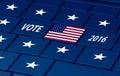 Usa election next autumn Royalty Free Stock Photo