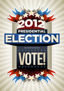 USA Election Poster Stock Photography