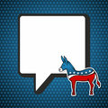 USA elections: Democratic politic message Stock Images