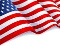 Spojené státy americké vlajka