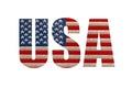 Stock Photo USA flag