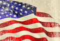 USA flag theme Royalty Free Stock Photos
