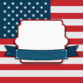 Usa frame Royalty Free Stock Photos