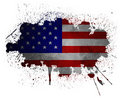 USA grunge flag Royalty Free Stock Photography