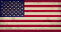 Usa grunge flag of vector illustration Royalty Free Stock Photography