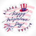 USA Independence Day Royalty Free Stock Photo