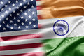 USA and India Royalty Free Stock Photos