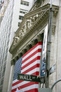USA, New York, Wallstreet, Stock Exchange Stock Photo