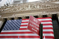 USA, New York, Wallstreet, Stock Exchange Royalty Free Stock Photo