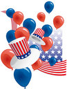USA party Royalty Free Stock Photos