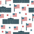 Usa pattern Royalty Free Stock Photography