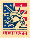 USA postage stamp. Royalty Free Stock Photography
