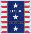 USA postage stamp Stock Photos