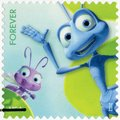 USA - 2012: shows Dot and Flick from A Bug`s Life, series mail a smile