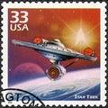 USA - 1999: shows Star Trek, series Celebrate the Century, 1960s Royalty Free Stock Photo