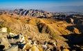 USA Southwest desert landscape during sunset Royalty Free Stock Photo
