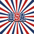 Usa stardust patriotic background Stock Images