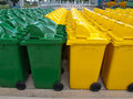 Usable bin Royalty Free Stock Photo