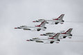 USAF Air Demonstration Squadron Royalty Free Stock Photo