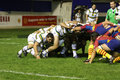 USAP vs Northampton Saints Stock Photos