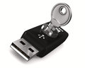 Usb flash drive on white background Royalty Free Stock Image
