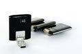 USB GPRS 3G 4G Wireless Modems Royalty Free Stock Photo