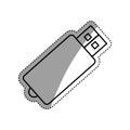 USB storage device Royalty Free Stock Photo