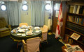 USCGC Ingham (WHEC-35) Captain Room Stock Image