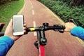 Use smarphone app for navigation