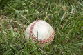 Used baseball ball Royalty Free Stock Photo