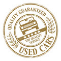 Used car stamp Stock Photos