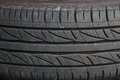 Used car tire texture background of Royalty Free Stock Image