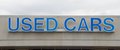 Used Cars For Sell Sign