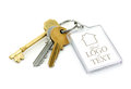 Used House keys Royalty Free Stock Photo