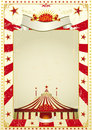 Used poster circus Royalty Free Stock Photos