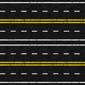 Used Road Seamless Pattern Stock Images